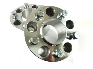 Dystanse przykręcane 25mm 5×120 + Śruby