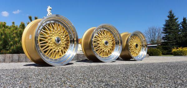 Forzza Malm 8,5x17 5x112 ET30 Gold / Lip Machined