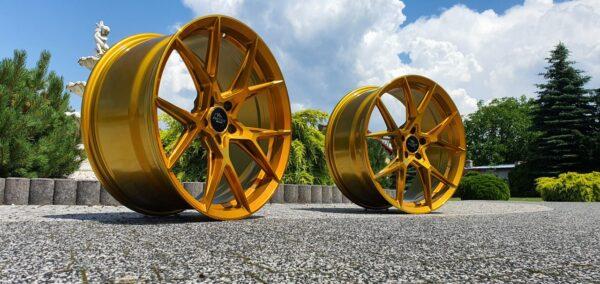 Forzza Oregon 9,5x19 5x112 ET38 Golden Amber