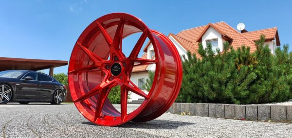 Forzza Oregon 9,0x20 5x112 ET35 Candy Red