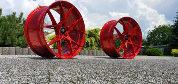 Forzza Oregon 9,5x19 5x120 ET38 Candy Red