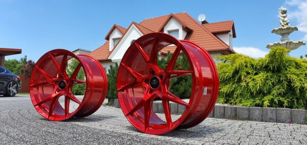 Forzza Oregon 10,0x20 5x112 ET40 Candy Red