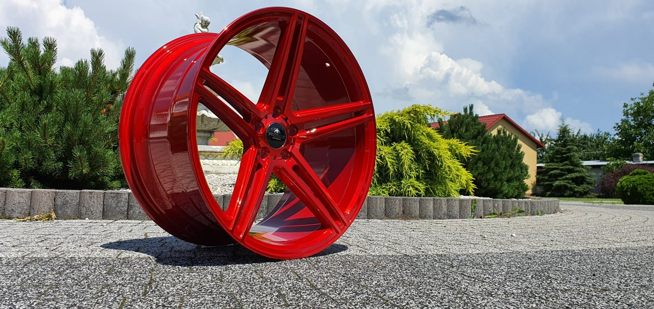 Forzza Bosan 9,0×20 5×112 ET30 Candy Red Lim Edition