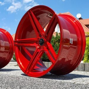 Forzza Bosan 10,5×20 5×112 ET37 Candy Red Lim Edition