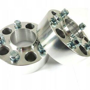 Dystanse przykręcane 40mm 5×120 + Śruby
