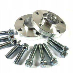 Dystanse AUDI 10mm Rozstaw 5X112 66,6 + Śruby