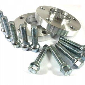 Dystanse AUDI 10mm Rozstaw 5×112 57,1 + Śruby