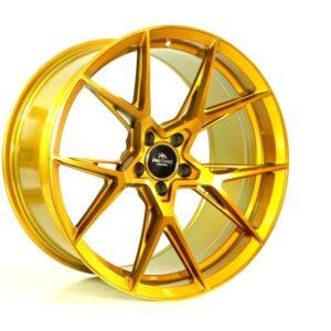 Forzza Oregon 8,5×19 5×120 ET32 72,56 Golden Amber