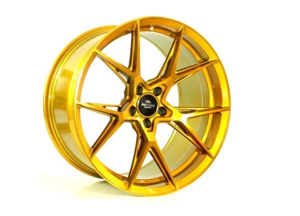 Forzza Oregon 9,0x20 5x112 ET35 Golden Amber