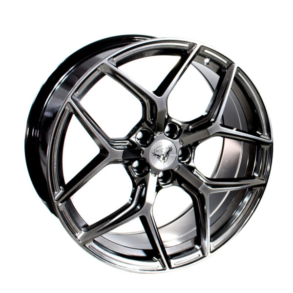 ALURIMS® AR002 9,5x19 5x120 ET38 Hyper Black