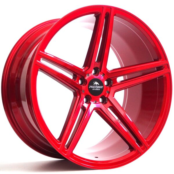 Forzza Bosan 9,0x20 5x112 ET30 Candy Red Lim Edition
