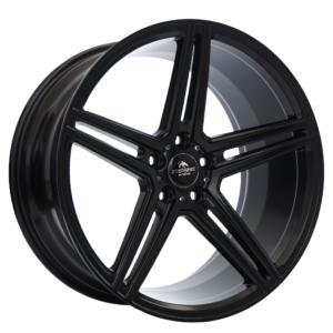 Forzza Bosan 8,5×19 5×112 ET25 66,45 Satin Black