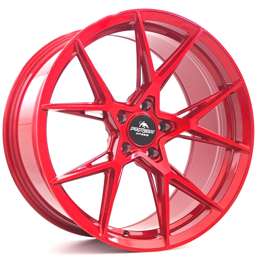 Forzza Oregon 10,0×20 5×120 ET37 Candy Red