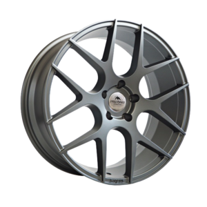Forzza Ambra 9×20 5×112 ET35 66,45 Silver Face Machined