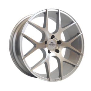 Forzza Ambra 10,5×20 5×120 Silver Face Machined