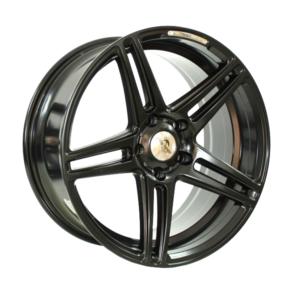 Forzza Bosan 8,0×18 5×112 Satin Black