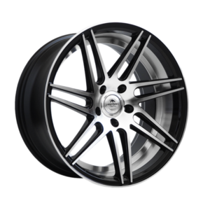 Forzza Charge 8,5×19 5×120 Black Face Machined / inside Lip Machined