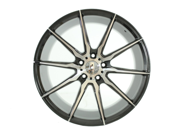 Forzza City 9,5x19 5x112 Grey Face Machined