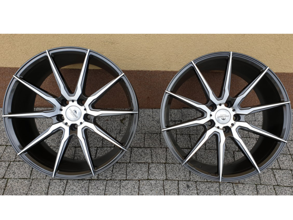 Forzza City 8,5x19 5x112 Grey Face Machined