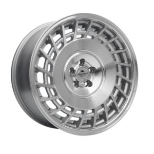 Forzza Limit 8,5×18 5×100 Silver Machined / Lip polished – Prawe