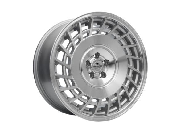 Forzza Limit 8,5x18 5x100 Silver Machined / Lip polished - Prawe