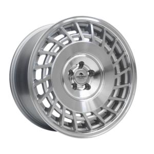 Forzza Limit 9,5×18 5×120 Silver Machined / Lip polished – Lewe