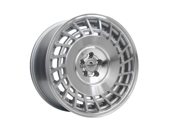 Forzza Limit 9,5x18 5x120 Silver Machined / Lip polished - Lewe