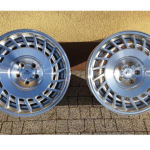 Forzza Limit 8,5×18 5×100 Silver Machined / Lip polished – Lewe