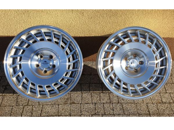 Forzza Limit 8,5x18 5x100 Silver Machined / Lip polished - Lewe