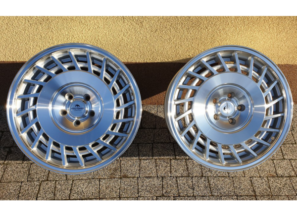 Forzza Limit 9,5x18 5x120 Silver Machined / Lip polished - Prawe
