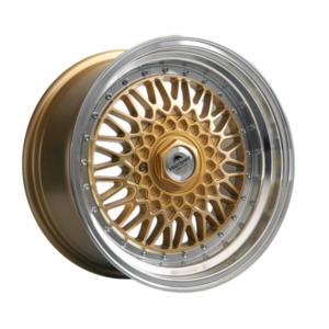 Forzza Malm 8,5×17 4×108 Gold / Lip Machined