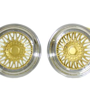 Forzza Malm 8,5×17 4×100 Gold / Lip Machined