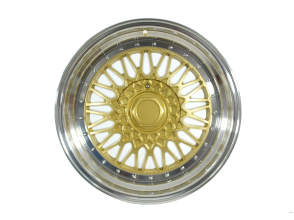 Forzza Malm 7x15 4x114,3 Gold / Lip Machined