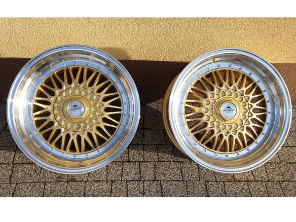 Forzza Malm 8,5x17 4x108 Gold / Lip Machined