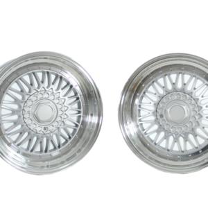 Forzza Malm 9×16 5×100 ET15 Silver / Lip Machined