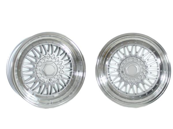Forzza Malm 8x16 4x100 Silver / Lip Machined
