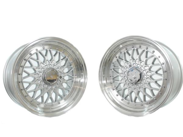 Forzza Malm 8,5x17 4x100 Silver / Lip Machined