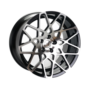 Forzza Spider 10,5×20 5×120 Black Face Machined