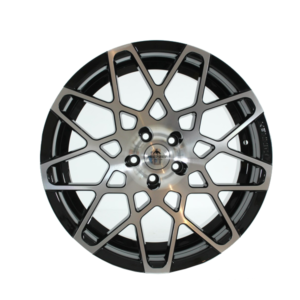 Forzza Spider 9×20 5×112 Black Face Machined