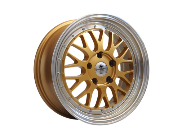 Forzza Spot 7,5x17 5x120 Gold Lip Machined