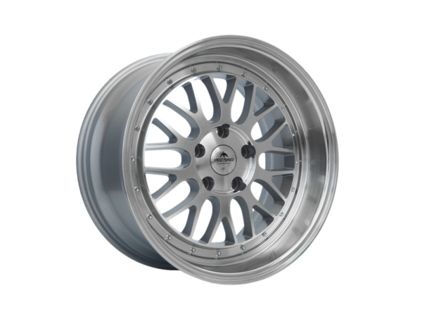 Forzza Spot 7,5x17 5x114,3 Silver Face Machined