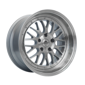 Forzza Spot 9,5×18 5×120 Silver Face Machined