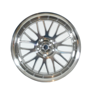 Forzza Spot 7,5×17 5×114,3 Silver Face Machined