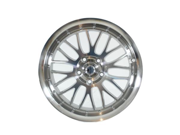 Forzza Spot 8,5x18 5x120 Silver Face Machined