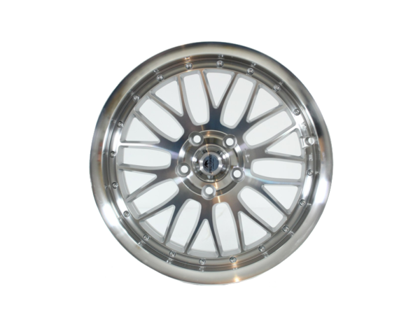 Forzza Spot 7,5x17 5x112 Silver Face Machined