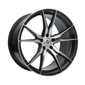 Forzza Ultra 9×20 5×112 ET35 66,45 Grey Face Machined