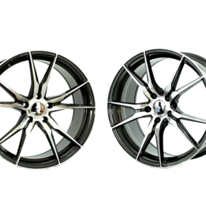 Forzza Ultra 9,5×19 5×112 ET45 66,45 Grey Face Machined