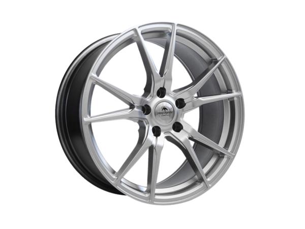 Forzza Ultra 8x18 5x112 Hyper Silver