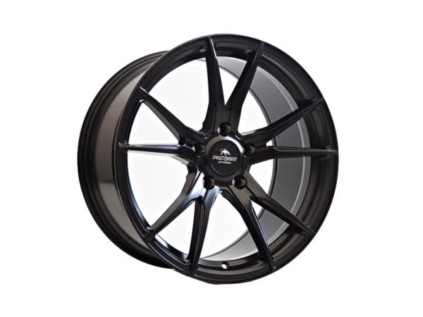 Forzza Ultra 9x20 5x120 Satin Black