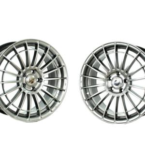 Forzza Velvet 8×18 5×112 ET45 66,45 Shining Silver